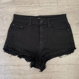 Urban Outfitters BDG Black Denim Jean Shorts